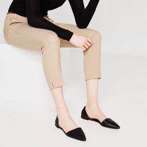 Zara D'orsay Flats